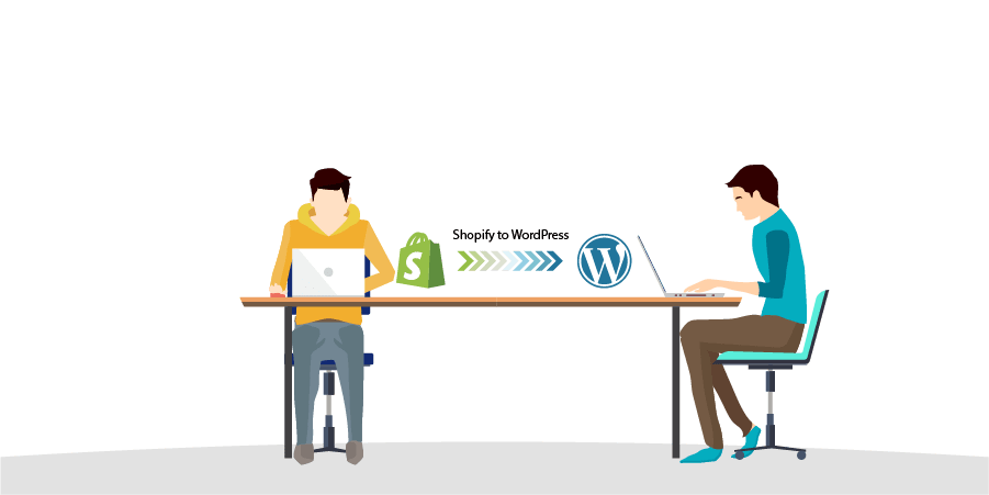 Shopify to WordPress Convert